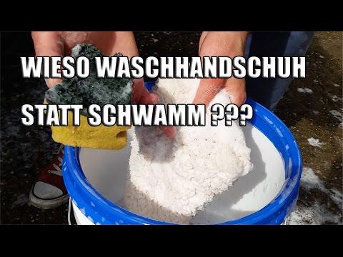 83metoo - Wieso einen Waschhandschuh statt Schwamm beim Autowaschen benutzen