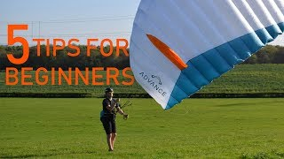 PARAGLIDING: 5 TIPS FOR BEGINNERS!