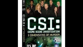 Forensics Are So Fly - CSI: 3 Dimensions Of Murder PC Game