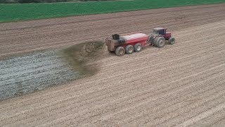 Hauling Manure and Seeding Cover Crops | Serious No-till Drill Breakdown
