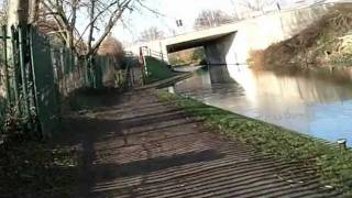 preview picture of video 'cycle ride christleton to chester via shropshire union canal'