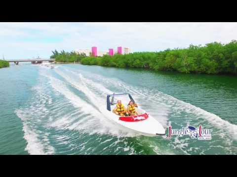 Speed Boat Jungle Tour Cancun