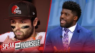Baker Mayfield will be a bust this season, talks Lamar & Watson — Acho | NFL | SPEAK FOR YOURSELF