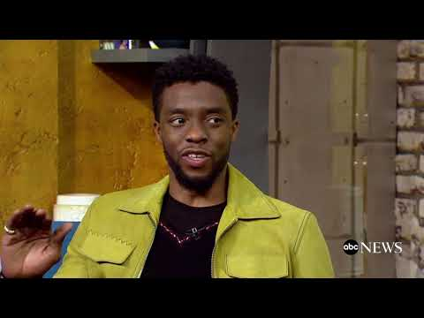Chadwick Boseman praises the heroic women of 'Black Panther'