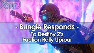 Bungie Responds to Destiny 2's Faction Rally Uproar