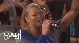 Queen Latifah Performs 'Mercy, Mercy, Mercy'