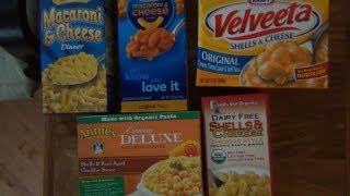 The Boxed Mac 'n' Cheese Showdown
