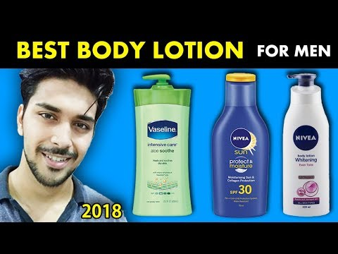 BEST BODY LOTION FOR MEN IN INDIA (2018) ! BEST BODY LOTION IN INDIA  ! SACHIN PANWAR- LIFESTYLE