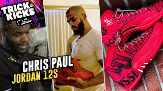 World's Best Sneaker Artist Makes INSANE Customs For CHRIS PAUL! Sierato Has Ridiculous Skills 🔥