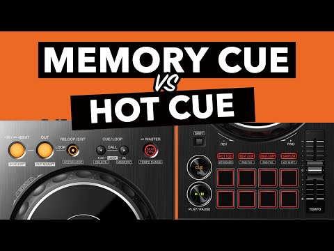 What's the difference between HOT CUES and MEMORY CUES? – Rekordbox DJ Tutorial