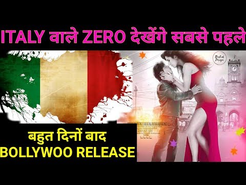 Zero Is Releasing In ITALY ON 20th December ! Biggest Release For All Time ! King Power