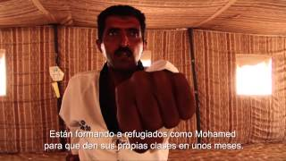 preview picture of video 'Jordania: Clases de Taekwondo para refugiados sirios'