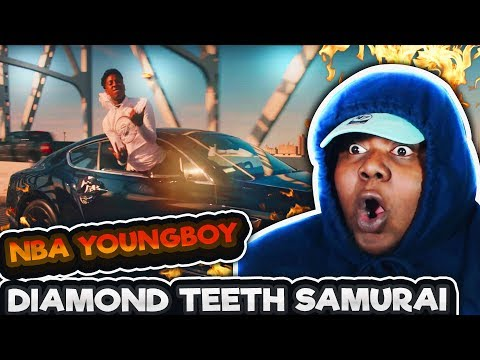 YoungBoy Never Broke Again - Diamond Teeth Samurai (Official Video)REACTION!!!