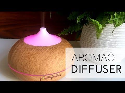Getestet: Aroma Diffuser | Vernebler | Raumduft mit Aromaöl #ad