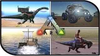 ark survival evolved mobile raft building - TH-Clip