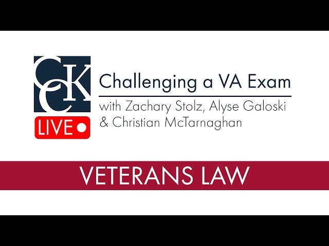 How to Challenge a VA Exam (C&P Exam)