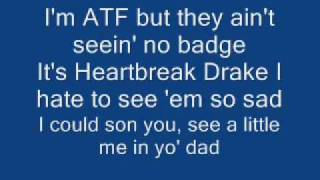 Drake Lil Wayne Ransom LYRICS !!!! on screen
