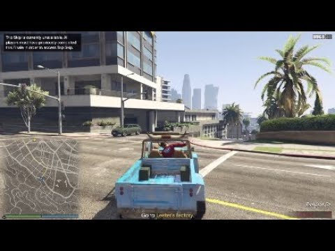GTAV-Trevor's Truck Ragg Doll Glitch! (GTA Online/Rare Vehicle)