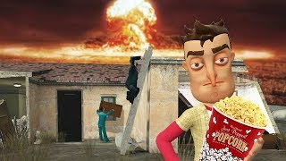 Garry's Mod - SURVIVING A NUCLEAR BLAST AND ZOMBIE ATTACK?!   Garry's Mod Gameplay   Gmod Gameplay