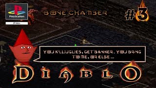 Annoying Imp & The Bone Chamber | Side Quests - Part 3 - Diablo PS1 Let's Play