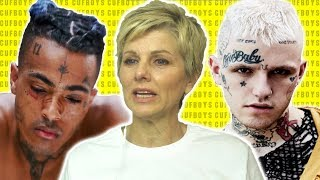 Gambar cover Mom Reacts to Lil Peep & XXXTENTACION - Falling Down
