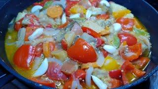 Вкуснейшее овощное рагу! Что приготовить на ужин, на обед? Овощное рагу!