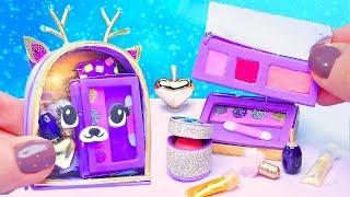 DIY Christmas Barbie Makeup Kit