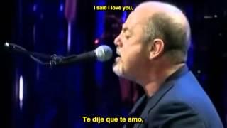 Billy Joel - Just The Way You Are (Español - Ingles).wmv