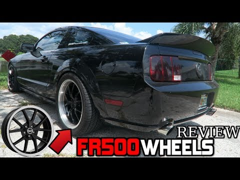 FR500 WHEELS REVIEW! 20 inch Staggered Rims – 07 GT MUSTANG