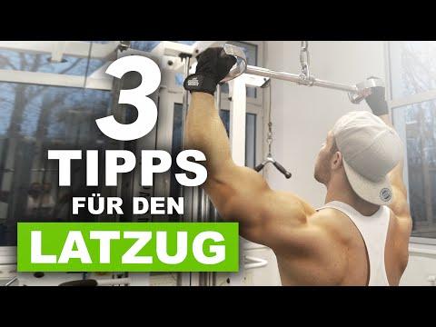 3 Tipps für den Latzug