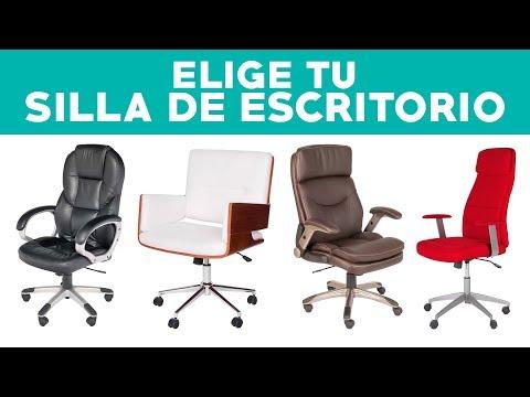 ¿Cómo elegir una silla de escritorio?