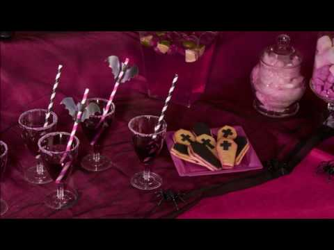 Halloween receptidee: Paarse cocktail zonder alcohol