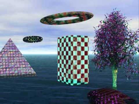 UFOS IN OUR GARDEN