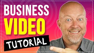 How To Make A Video For Your Business (Live on Stage)