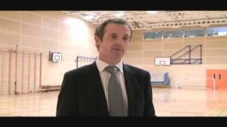 preview picture of video 'Olympian Steve Smith at opening of Centre for Learning in Kirkby'