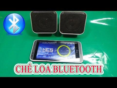 Chế loa bluetooth từ Loa 2.0 Mini và USB Bluetooth âm thanh