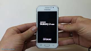 Samsung Galaxy J1 Ace SM-J110H  Hard Reset & Unlock Security (Pattern)