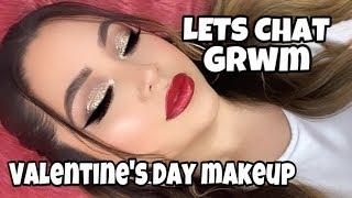 GRWM | VALENTINES DAY MAKEUP | Nikki Valenzuela
