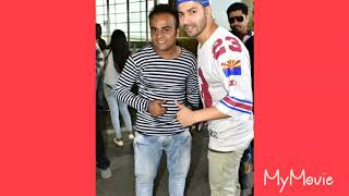 Varun dhawan with his fans