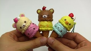 ASMR Squishy #014 Rilakkuma Ice Cream