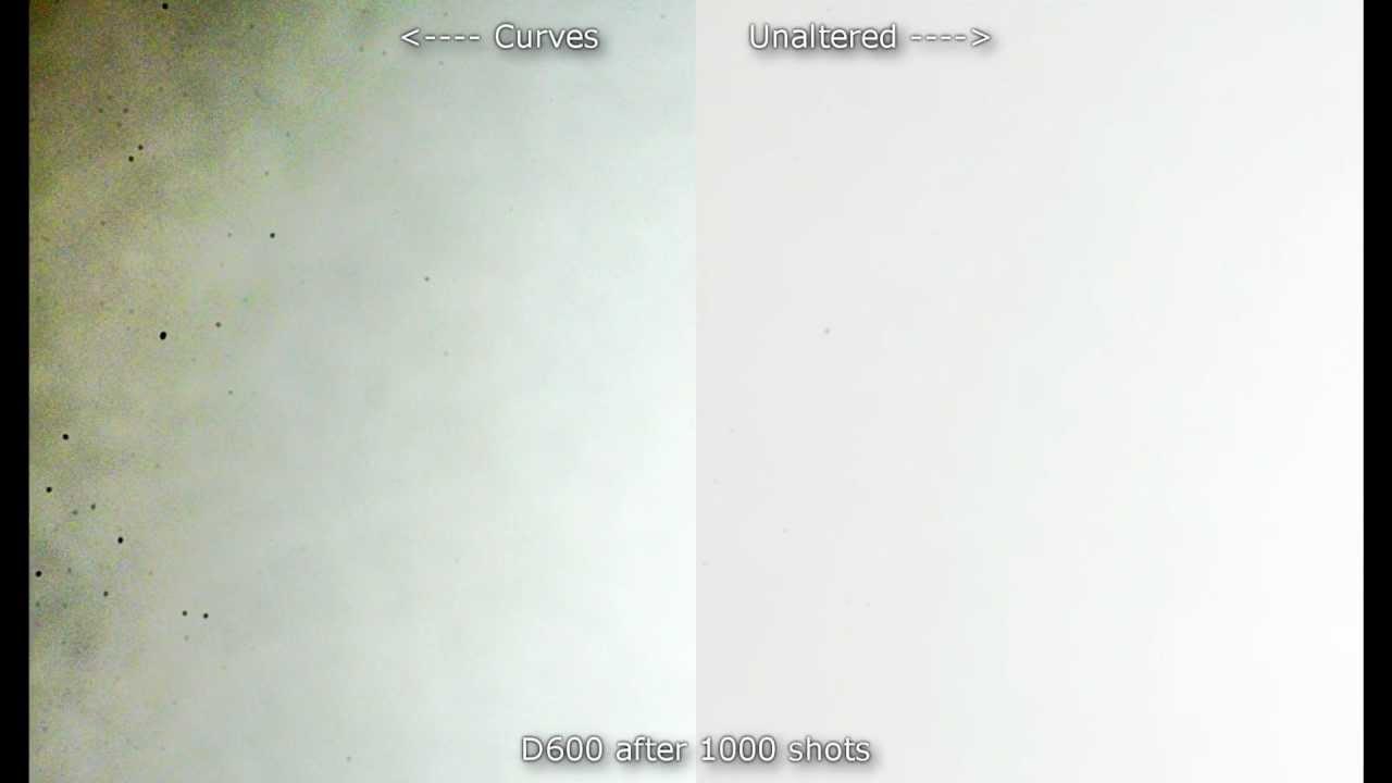 This Time Lapse Shows The Nikon D600 Has A Dusty Sensor Problem