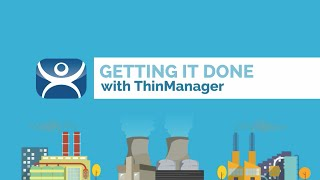 So what is ThinManager?   ThinManager is visualization management software for delivering assets, HM
