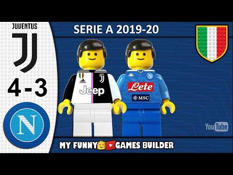 Juventus vs Napoli 4-3 • Serie A 2019/20 • Sintesi 31/08/2019 • All Goal Highlights Lego Football