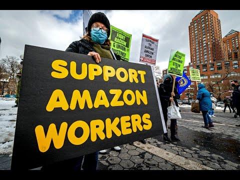 Amazon Union Effort In Alabama Fails
