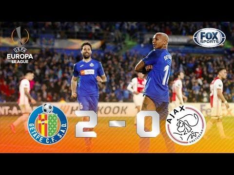 SÓ VALIA GOL BRASILEIRO? Melhores momentos de Getafe 2 x 0 Ajax pela Europa League