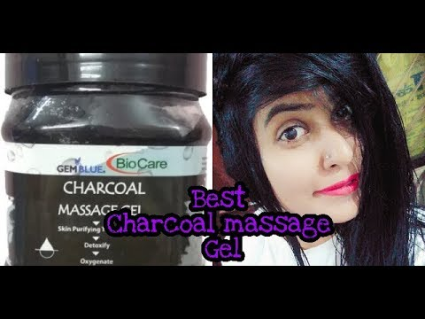 Biocare charcoal massage gel /perfect for  all skin /skin purifying