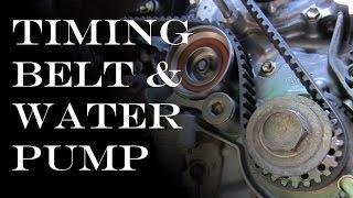 Timing Belt / Waterpump Replacement: Toyota & Lexus V6