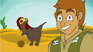 Danger Dave in Mythical Creatures Around the World (animated short)