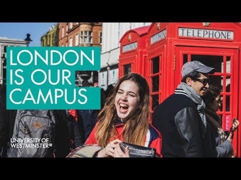 London is Our Campus - University of Westminster - Join Us