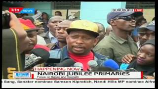 Mike Sonko reiterates what Jubilee Secretariat Chair-Musangi said that everyone will vote